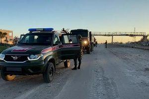 Xe tuần tra vấp phải thiết bị nổ, quân nhân Nga thương vong tại Syria