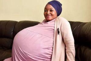 Thực hư người phụ nữ mang thai tự nhiên vừa hạ sinh 10 em bé cùng lúc
