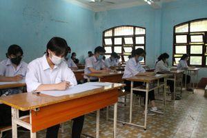 Kon Tum thi thử tốt nghiệp THPT: Mỗi phòng thi cách nhau 10 mét