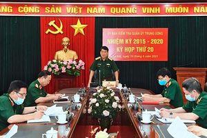 UBKT Quân ủy Trung ương đề nghị kỷ luật Đảng 12 quân nhân
