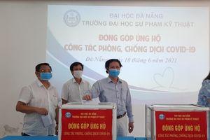 Đà Nẵng: Trường ĐH Sư phạm Kỹ thuật quyên góp ủng hộ công tác phòng, chống dịch Covid-19