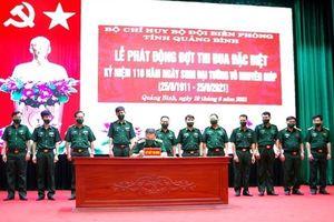 Phát động Thi đua đặc biệt kỷ niệm 110 năm Ngày sinh Đại tướng Võ Nguyên Giáp