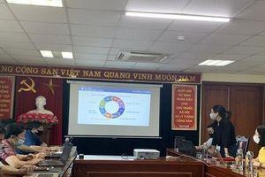 Sở Tư pháp tỉnh Lào Cai tham gia tập huấn phần mềm Theo dõi chỉ đạo điều hành