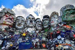 Lãnh đạo các nước G7 được tạc tượng làm từ…rác thải điện tử