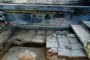 Khai quật tại ngôi điện đặc biệt có 13 đời vua Nguyễn đăng quang: Nhiều xuất lộ bất ngờ