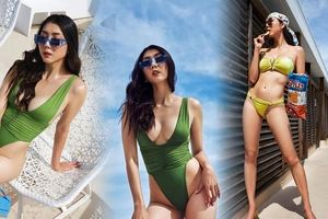 Ngọc Quyên tung hình bikini nóng bỏng 'nghẹt thở'