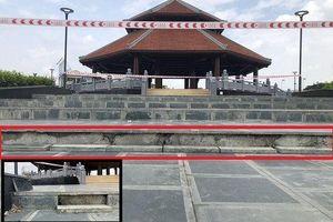 Hải Phòng: Hai dự án công viên trọng điểm, thi công thần tốc bị hư hỏng