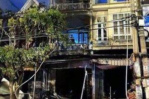Cháy nhà 4 tầng ở Quảng Ninh, một người tử vong