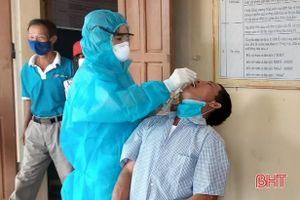 Can Lộc khẩn trương truy vết trường hợp liên quan ca bệnh TX Hồng Lĩnh