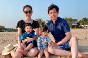 Đặng Thu Thảo và chồng đại gia cùng đăng loạt ảnh gia đình khiến dân tình xuýt xoa vì ai cũng đẹp
