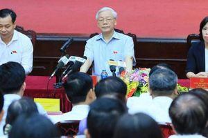 Tổng Bí thư Nguyễn Phú Trọng đạt số phiếu cao nhất 10 đơn vị bầu cử Hà Nội