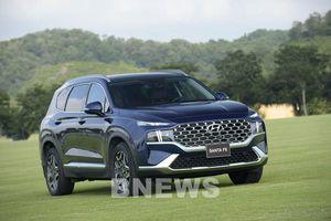SUV Hyundai Santa Fe thế hệ mới có doanh số bán hàng tăng hơn 50%