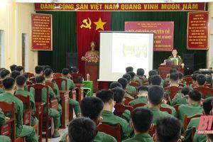 Bộ CHQS tỉnh: Nâng cao hiểu biết về thân thế, sự nghiệp của Chủ tịch Hồ Chí Minh