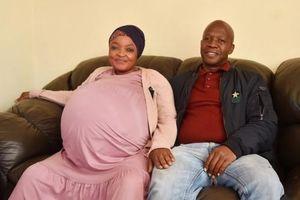 Hy hữu: Người phụ nữ mang thai tự nhiên, sinh 10 em bé ở Nam Phi