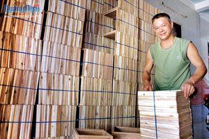 Phát triển kinh tế từ gỗ phế liệu