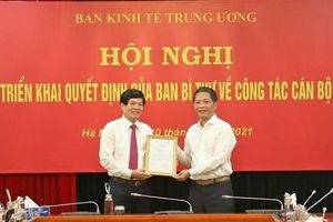 Đồng chí Đỗ Ngọc An giữ chức Phó Trưởng Ban Kinh tế Trung ương