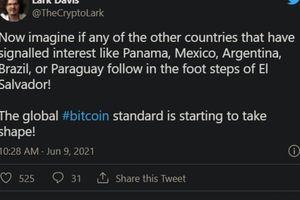 Bitcoin có dấu hiệu tăng nhẹ kể từ sau lạm phát Trung Quốc