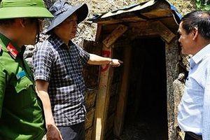Sử dụng 6 tấn thuốc nổ đánh sập 75 hầm vàng tại Quảng Nam