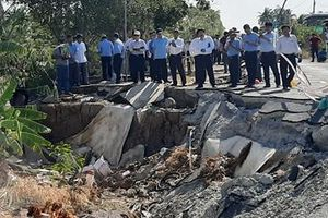 6 ngày xảy ra 39 vụ sạt lở đất ở tỉnh cực Nam Tổ quốc