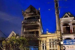 Quảng Ninh: Cháy nhà 4 tầng, một người chết lúc rạng sáng
