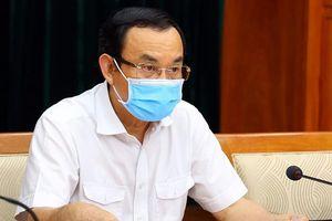 Bí thư Nguyễn Văn Nên: Ngày mai sẽ nghe báo cáo về lộ trình tiêm vaccine của TP
