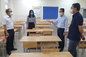 Kiểm tra công tác phòng dịch, chuẩn bị cho kỳ thi tuyển sinh vào lớp 10 tại huyện Gia Lâm