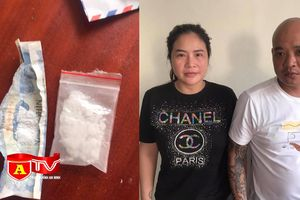 Tuần tra kiểm soát bắt giữ đôi nam nữ tàng trữ ma túy