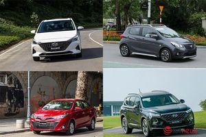 Top xe bán chạy: bị VinFast Fadil vượt mặt, Toyota Vios chưa thể trở lại ngôi vương