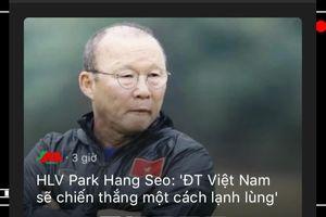 Sốc và nóng trước trận Việt Nam – Malaysia