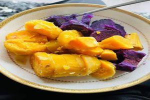 Khoai lang tím và khoai lang vàng loại nào dinh dưỡng hơn?