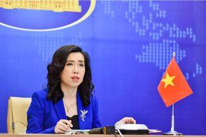 Yêu cầu Đài Loan hủy bỏ tập trận trái phép ở Trường Sa của Việt Nam