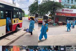 Bắc Giang đưa lao động của các tỉnh, thành phố tạm thời trở về địa phương