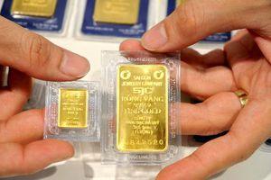 Giá vàng tăng gần nửa triệu đồng một lượng
