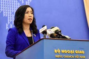 Việt Nam yêu cầu Đài Loan hủy bỏ hoạt động diễn tập trái phép ở Trường Sa