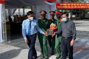 Quảng Trị: Tổ chức lễ truy điệu và an táng 40 hài cốt liệt sĩ