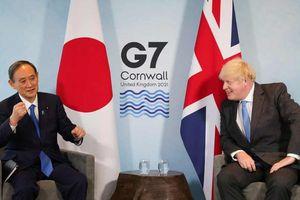 Anh và Nhật Bản cam kết thúc đẩy hợp tác