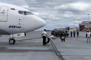 'Gấu Siberia' kéo máy bay Boeing nặng 40 tấn, phá kỷ lục tại Nga