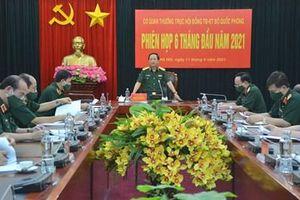 Cơ quan Thường trực Hội đồng Thi đua - Khen thưởng Bộ Quốc phòng họp phiên 6 tháng đầu năm