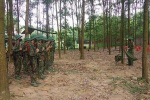 Trung đoàn Bộ binh 246 làm tốt công tác huấn luyện chiến sĩ mới