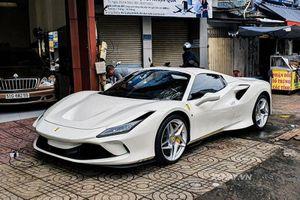 Ferrari F8 Spider - siêu xe không dưới 32 tỷ trên phố Sài Gòn