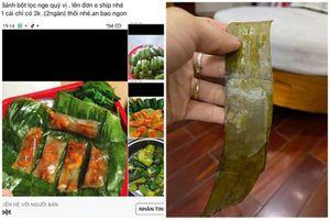 'Săn sale' bánh bột lọc, cô gái nhận sản phẩm khiến netizen 'cười bò'