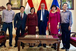 Đại sứ quán là 'ngôi nhà chung' của cộng đồng người Việt Nam tại Hungary