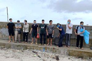 Phát hiện 9 đối tượng nhập cảnh trái phép từ Campuchia vào Việt Nam bằng đường biển