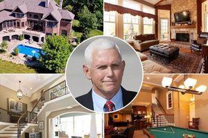Cựu phó tổng thống Mỹ Mike Pence tậu biệt thự trị giá 1,9 triệu USD