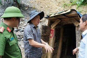 Quảng Nam đánh sập 75 hầm vàng
