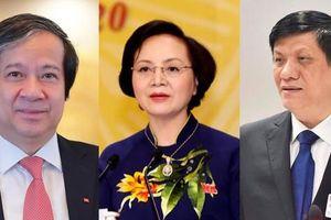 13 bộ trưởng trúng cử, 5 người lần đầu tham gia Quốc hội