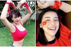 Dàn sao Việt đồng loạt 'đổ bộ' nhuộm đỏ mạng xã hội cổ vũ cho tuyển Việt Nam trước giờ G