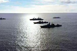 Hải quân Nga tiến hành diễn tập quy mô lớn ở Thái Bình Dương