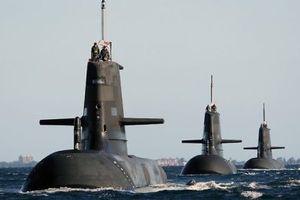 Australia chi 8 tỷ USD để kéo dài tuổi thọ các tàu ngầm lớp Collins