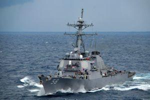 Tàu khu trục tên lửa Mỹ hướng đến Biển Đen